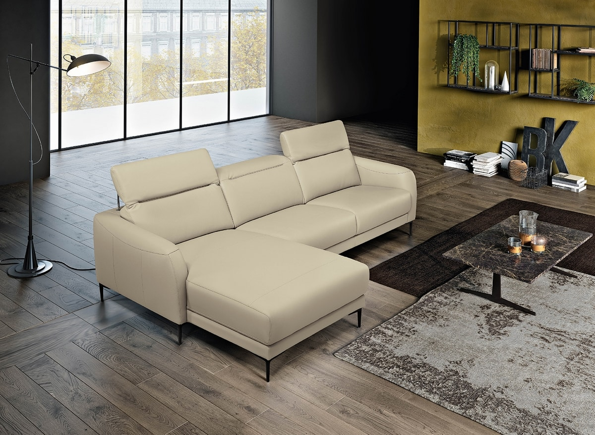 Grant, Sofa with reclining back