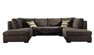 Grigiochiaro, Modular sofa with removable upholstery