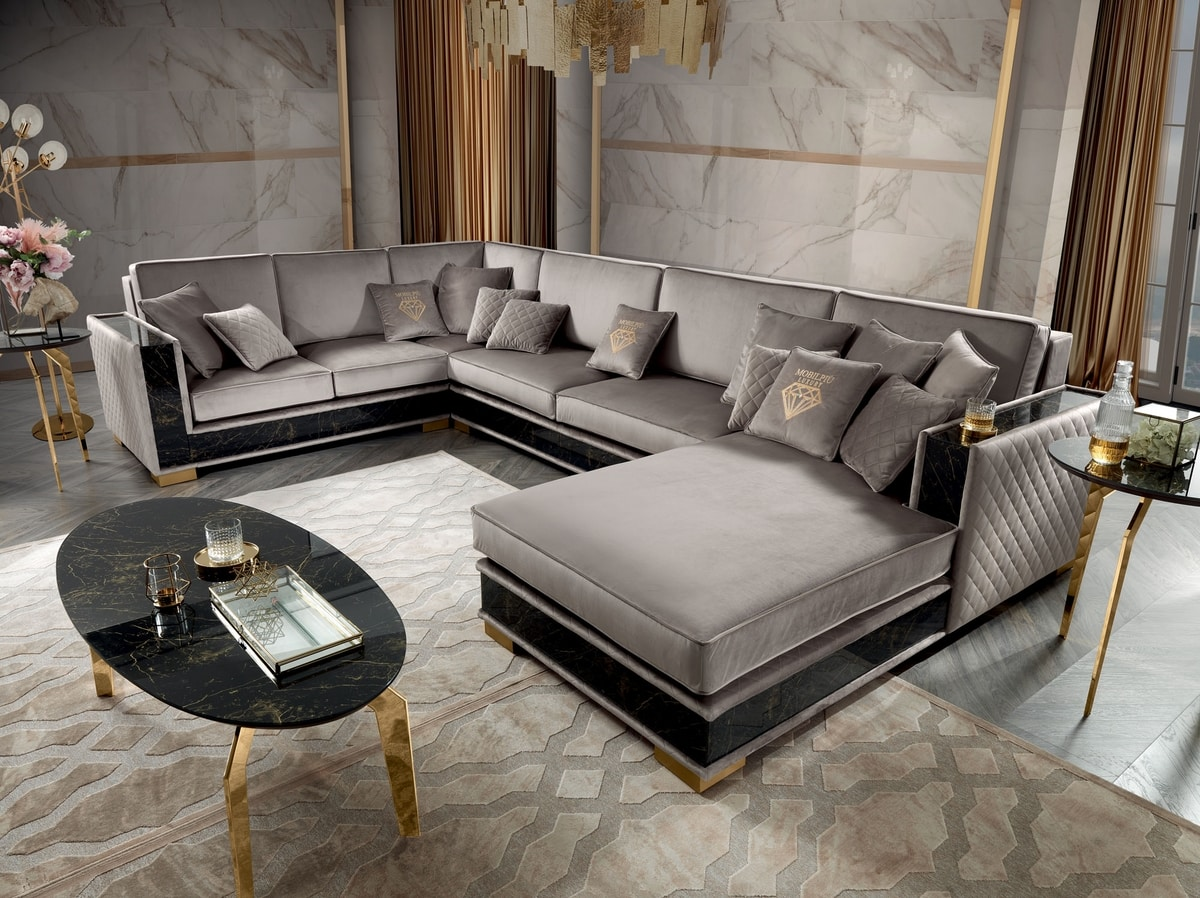 Incanto corner sofa, Modular corner sofa