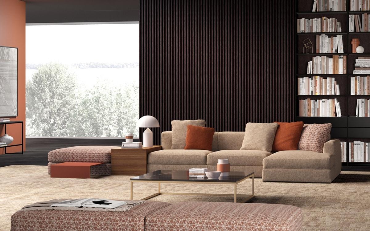 Justin, Extra soft modular sofa