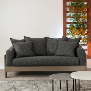 Kuba Soft, Elegant wooden sofa