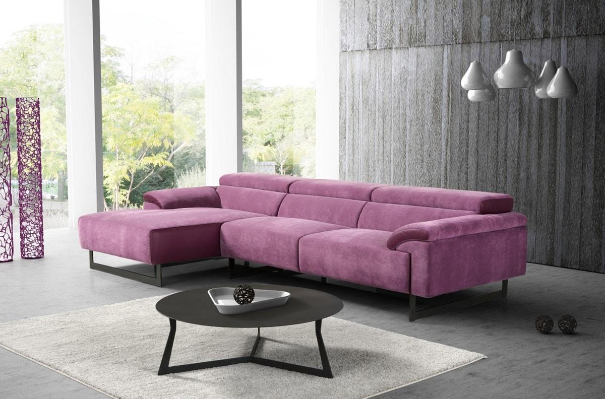 Malika, Sofa with minimal design