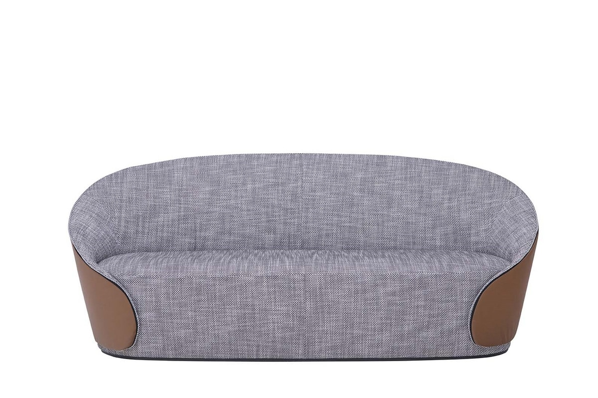 MAMA sofa, Sofas entirely upholstered in leather or eco-leather