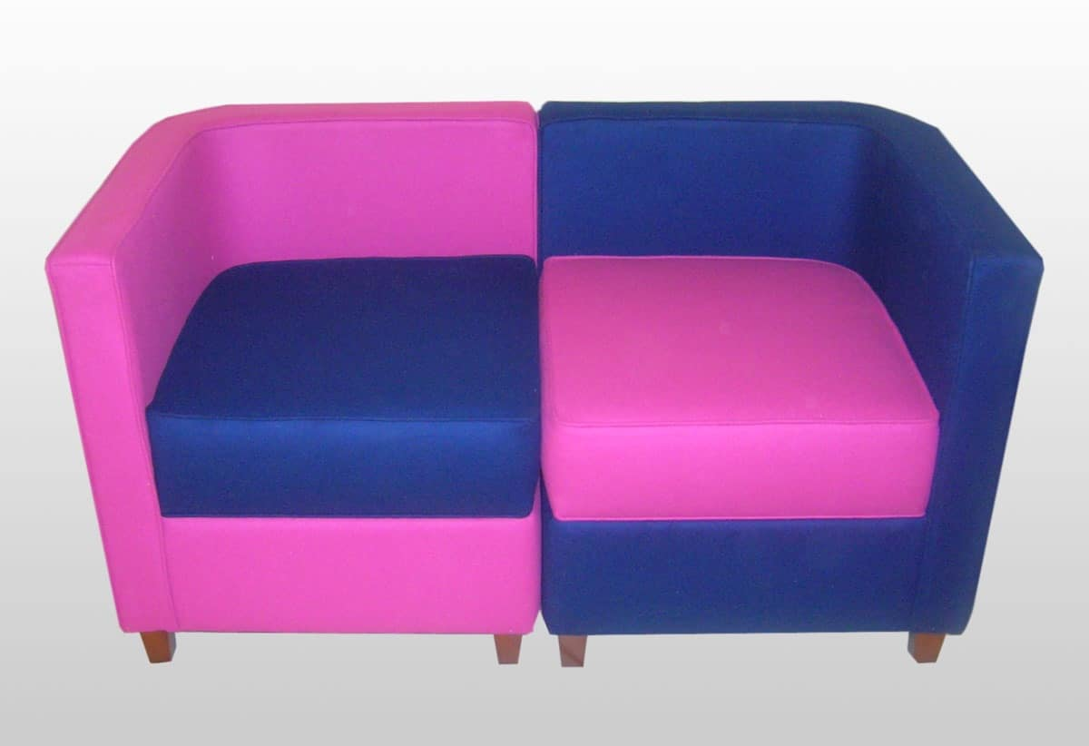 Margaret, Modular sofa upholstered with wooden frame