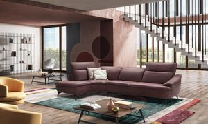 Medea, Sofa with soft lines