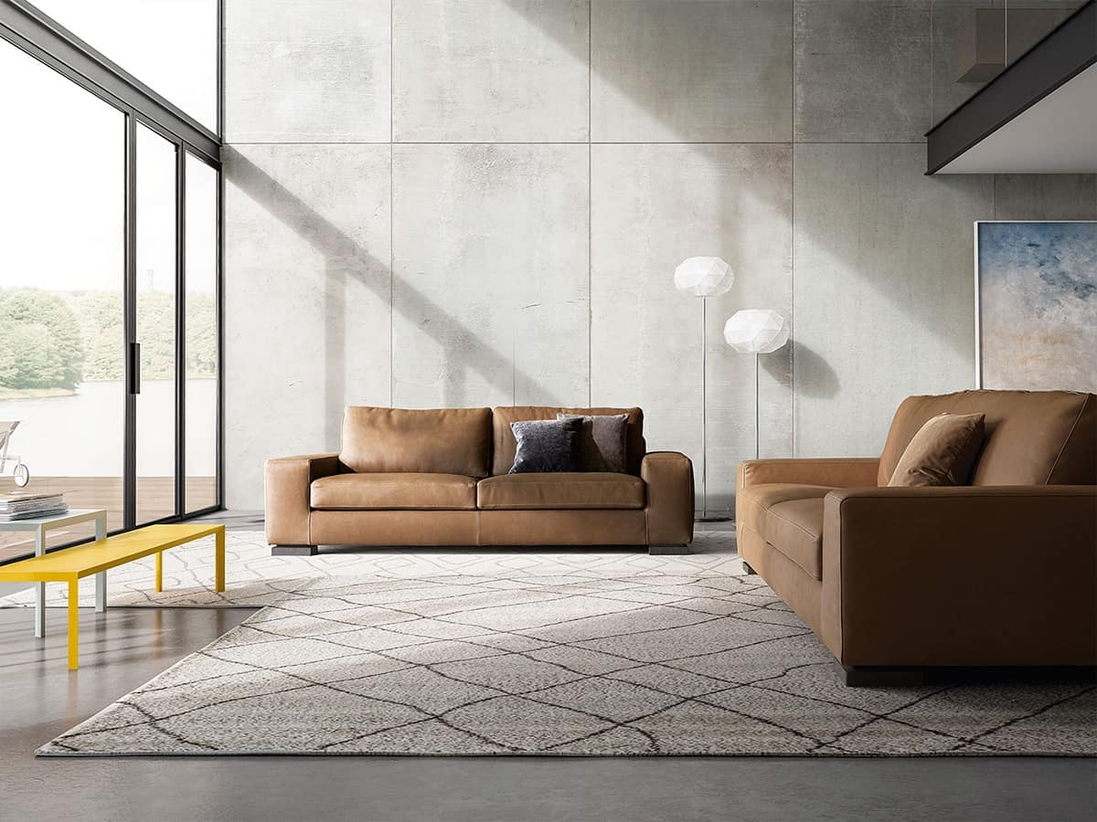 Meridiano, Charismatic and comfortable sofa