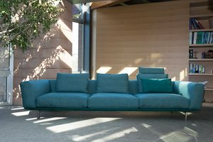 Milano, Modular sofa with completely removable upholstery