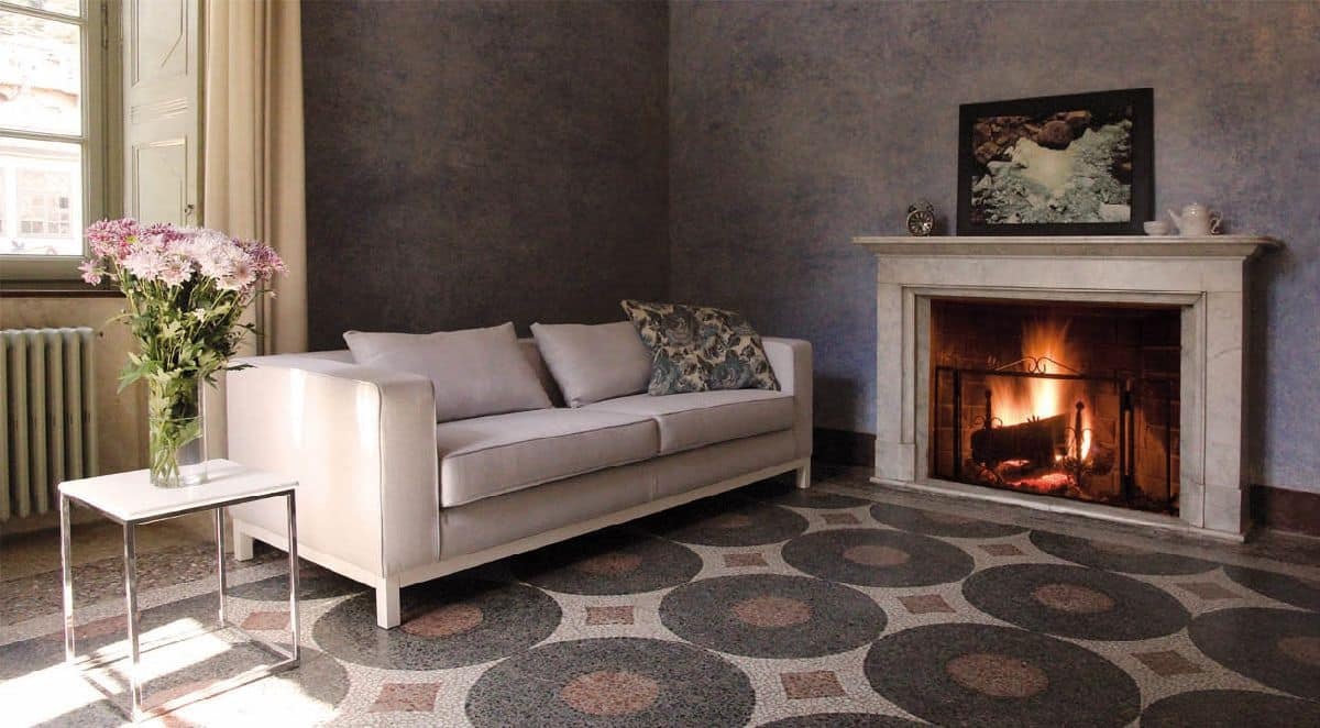 Mio, Sofa in polyurethane and dacron, beech base, for office