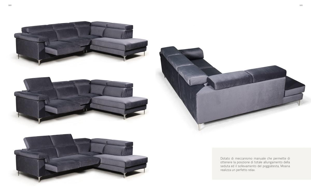 Moana, Sofa with manual mechanism