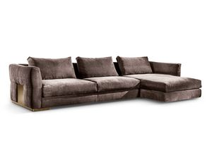 Montecarlo corner sofa, Corner sofa for classic and modern environments