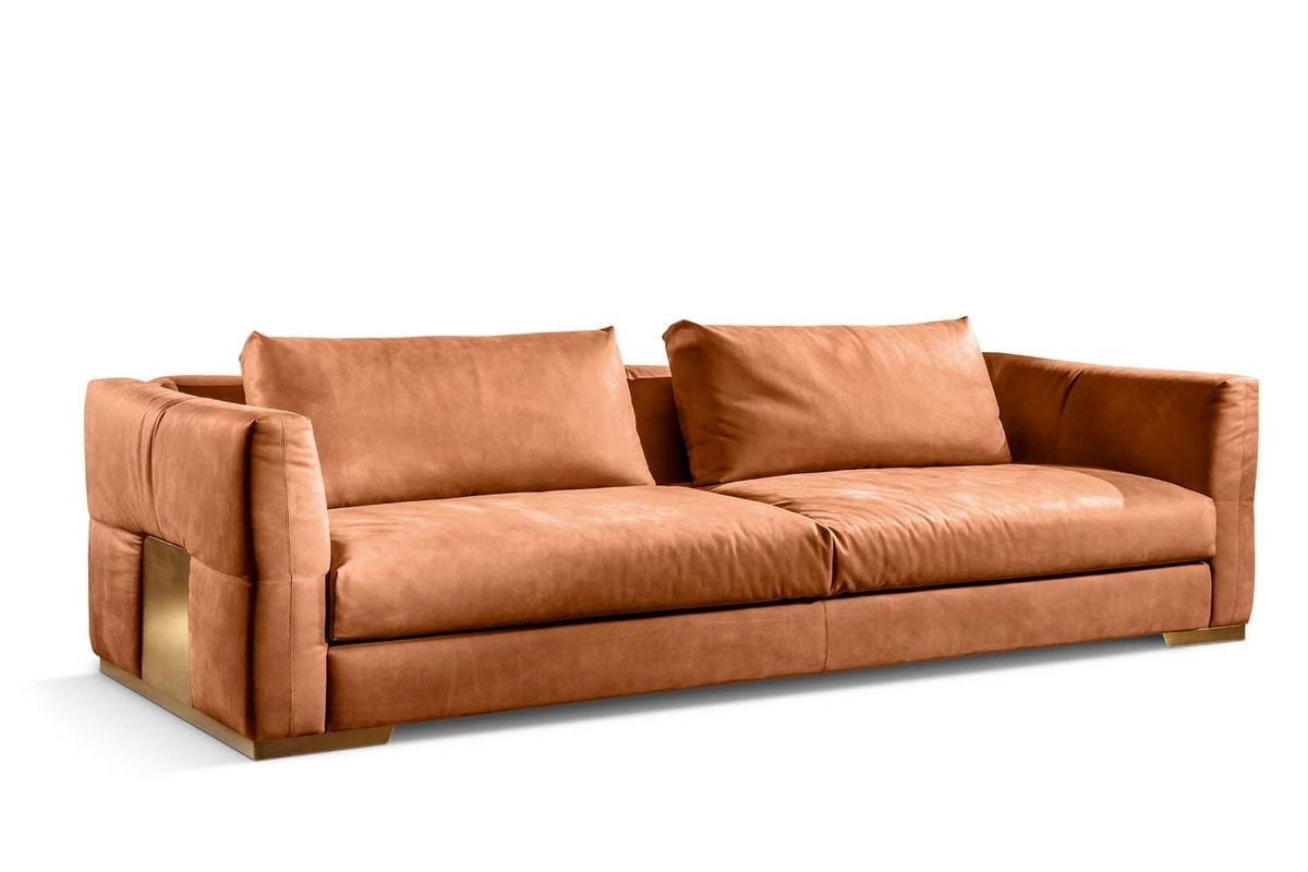 Montecarlo sofa, Comfortable and elegant sofa