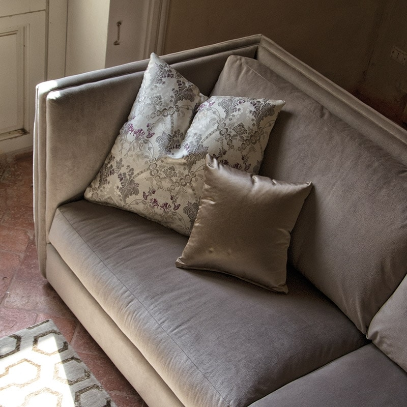 Morris sofa, Contemporary sofa with fabric upholstery