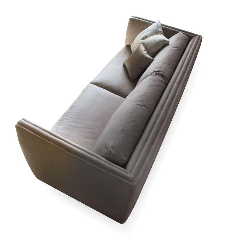 Morris sofa, Contemporary sofa with fabric upholstery