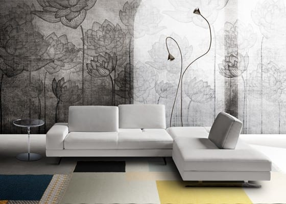 Movie, Modern Sofa Upholstered With Polyurethane Foams