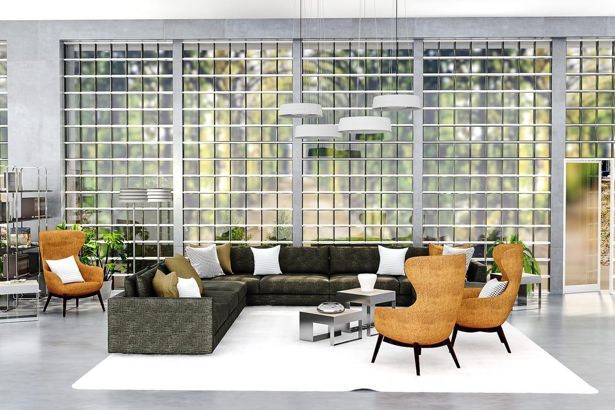 Newport, Modern stylish sofa