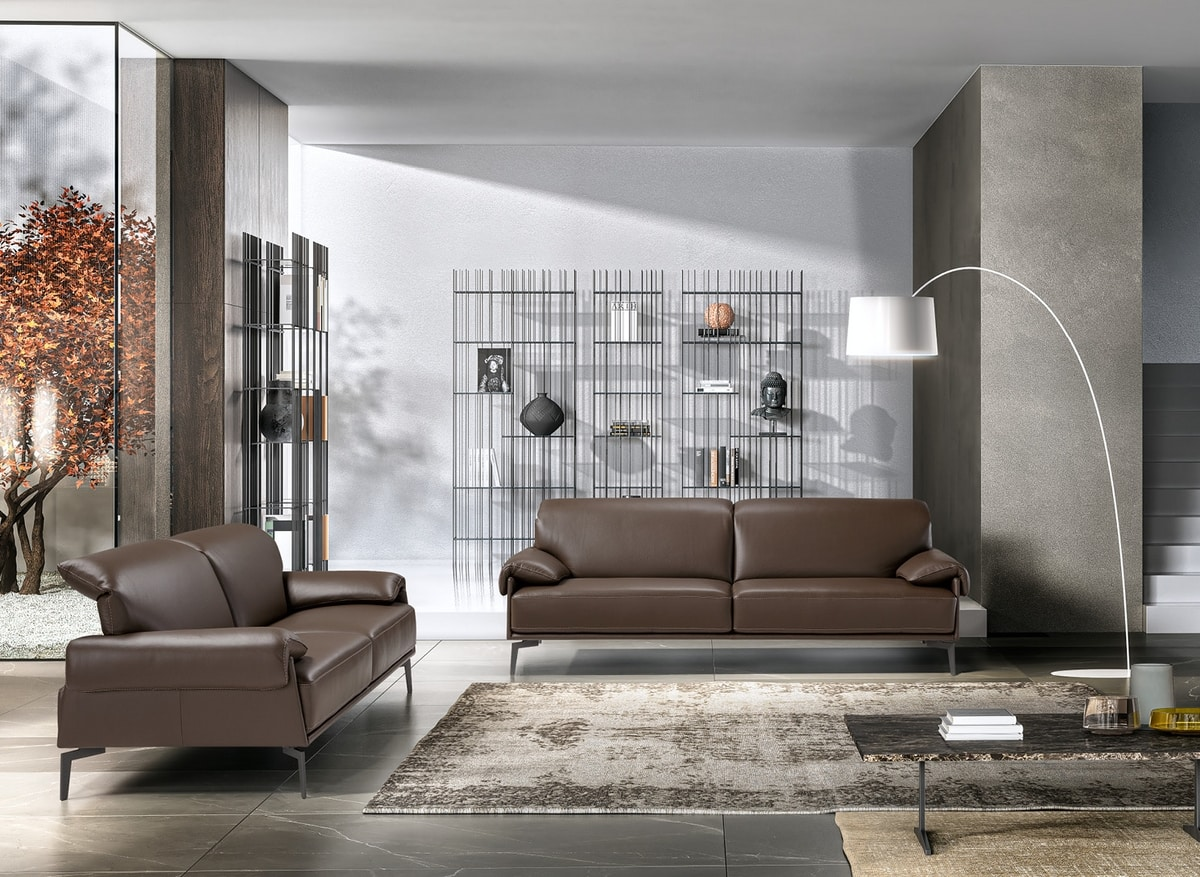 Norma, Sofa with reclining headrest