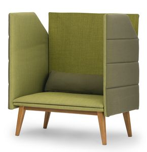 Oasis high, Sofa with high back and sides allows greater privacy