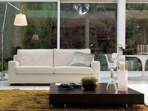 Oliver, Modern convertible sofa, for hotel and waiting room