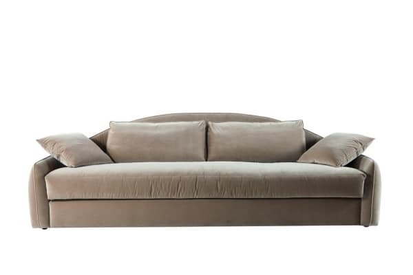 Only You sofa, Sofa with plain-coloured upholstery