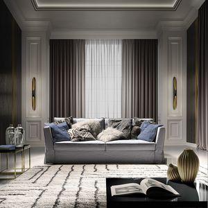 Otello Evo, Sofa with a timeless design