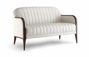PARIGI SOFA 038 D, Sofa with visible stitching