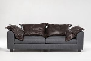 Paul, Custom-made sofa with memory foam cushions