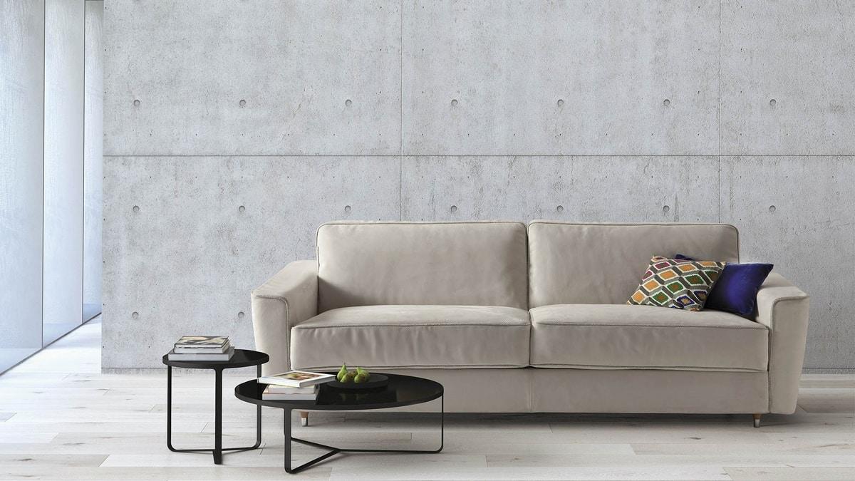 Petrucciani, Elegant and comfortable sofa bed