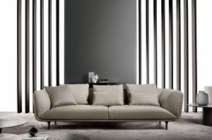 Premiere, Elegant sofa with soft lines