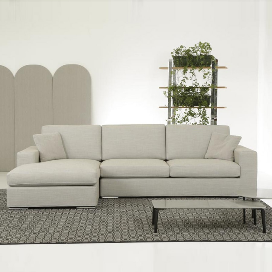 Prestige, Sofa with simple design, with high-back, for home