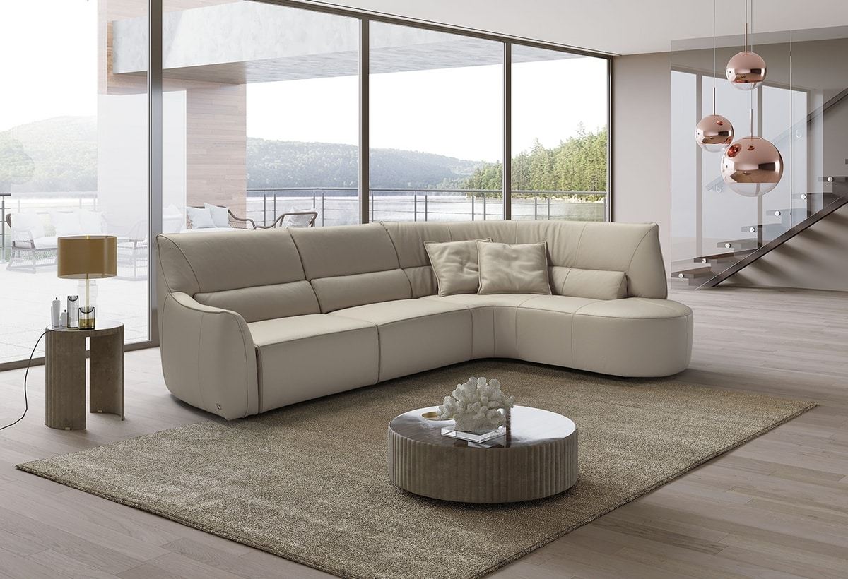 Puffy, Comfortable compact sofa