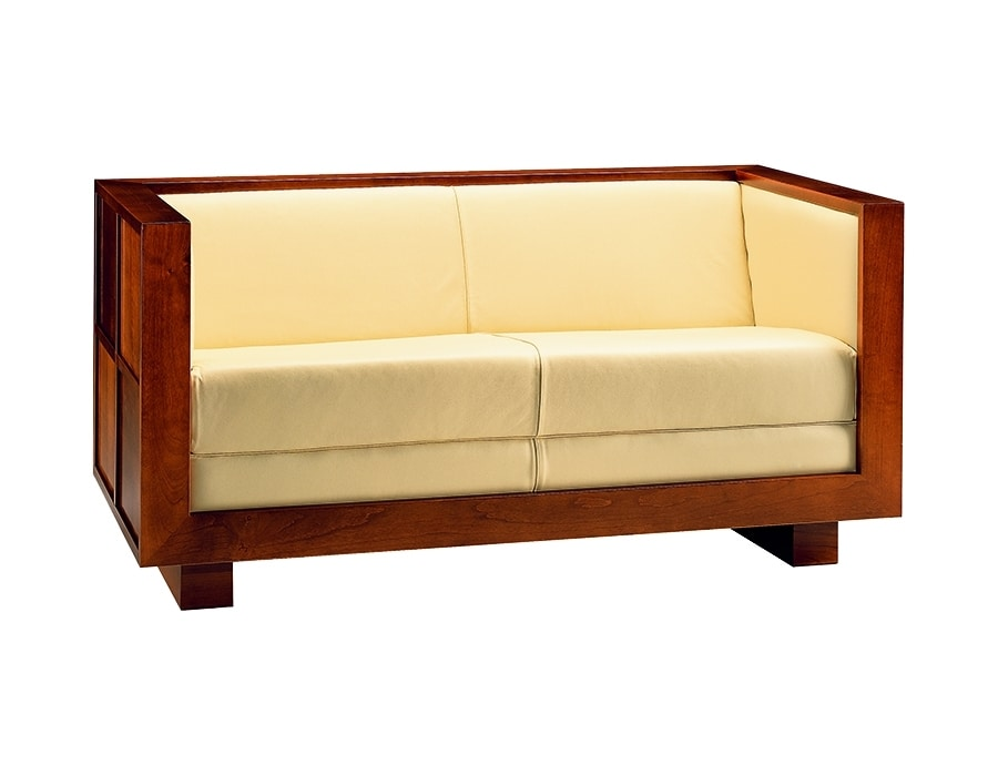 Scacchi 2230, Sofa with rigorous and geometric lines