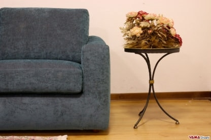 Scott, Sofa of great originality, a model with a lively design
