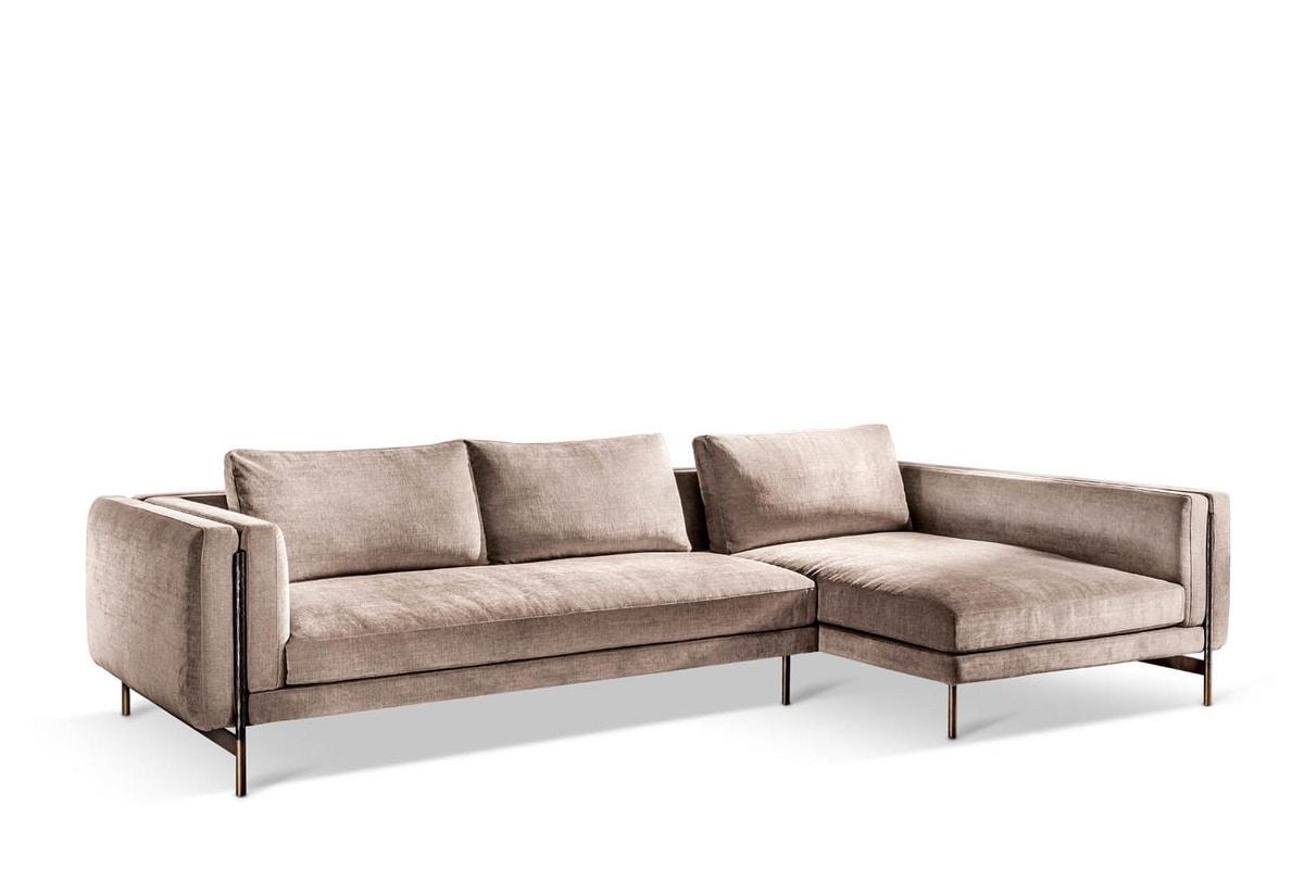 Shangai corner sofa, Modular sofa with a modern design