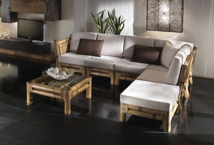 Sofa Kioto, Modular sofa, ethnic style