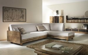 Sofa TSU honey, Modular ethnic sofa