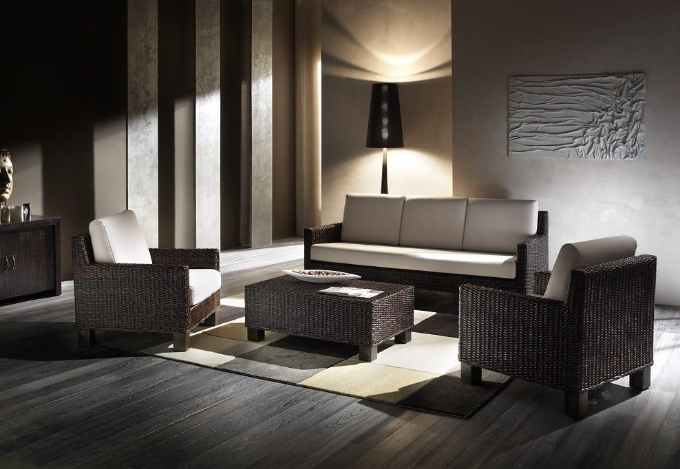 Sofa Verano, 3-seater ethnic sofa