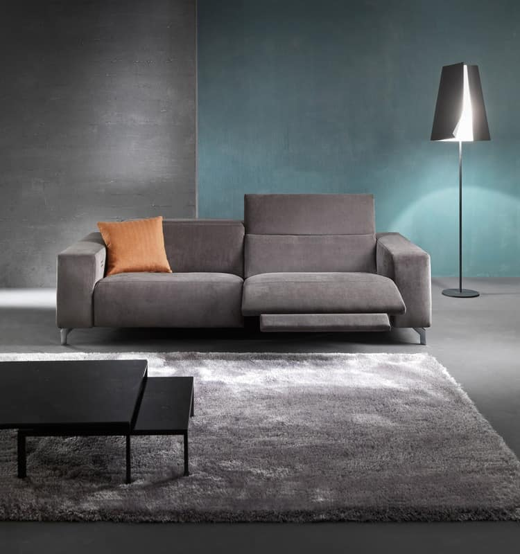 Soho, Sofa with relax mechanism, adjustable for Hotel
