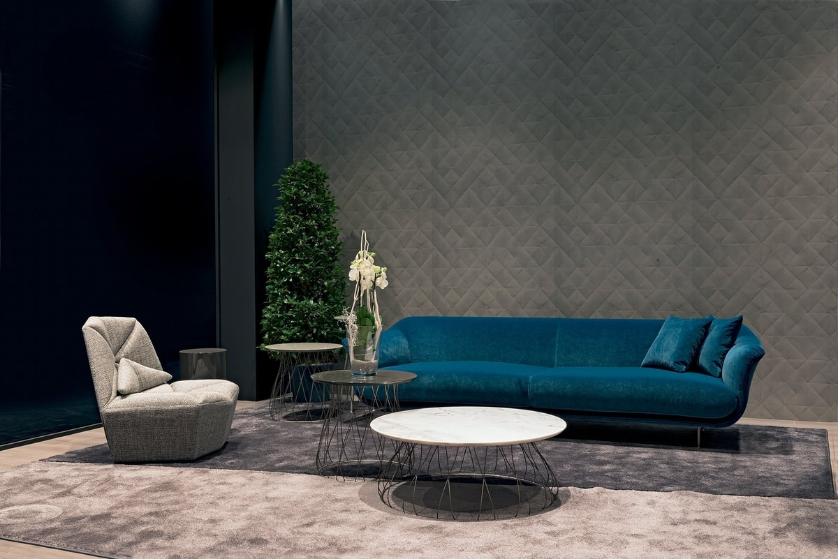 Style, Sofa in leather or fabric