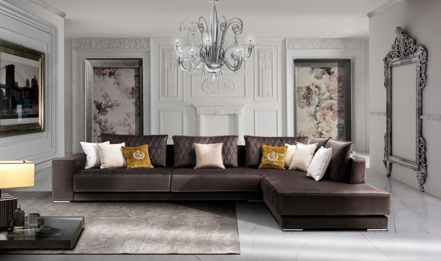 TESLA, Contemporary style sofa suitable for all environments
