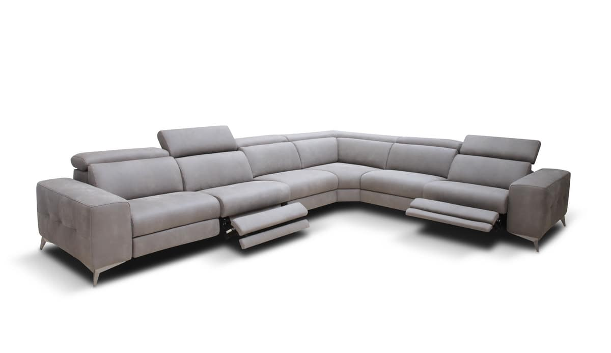 Swell Angular Sofa With Modular Pieces For Modern Living Room Caraccident5 Cool Chair Designs And Ideas Caraccident5Info