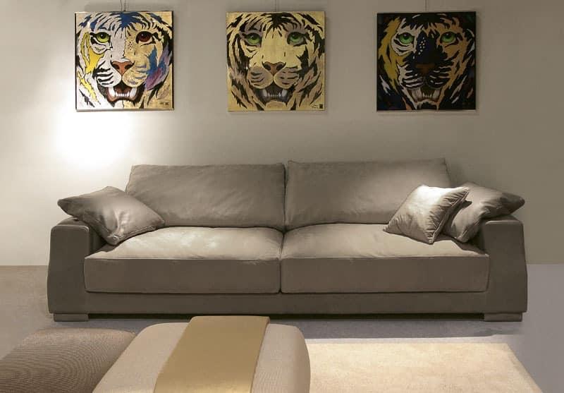 Theodor, Elegant modern sofa for office