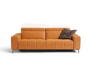 Tiffany, Sofa with variable height backrests