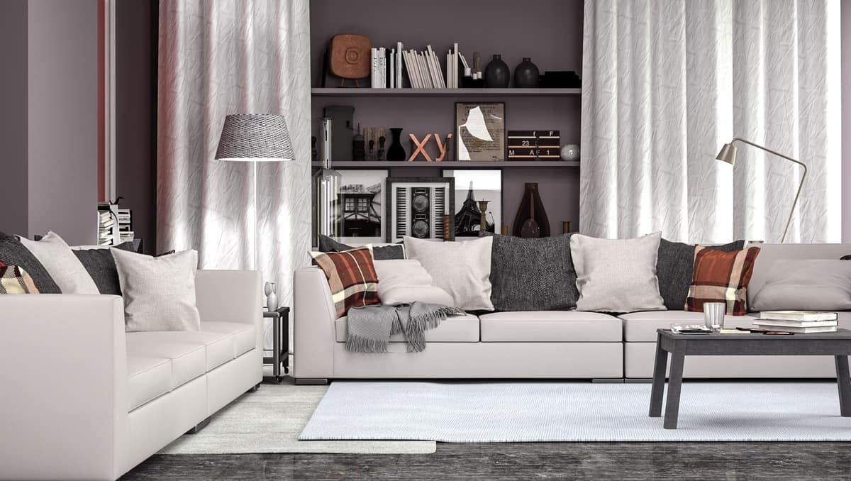 Polaris Designed For Living Srl sofa with peninsula, modular and elegant, for living | idfdesign