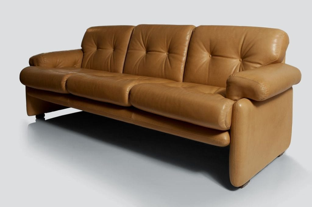 Tobia, Custom Leather Sofa