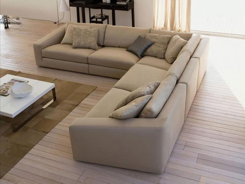 Modular System Of Sofas Soft And Deep Seat Idfdesign