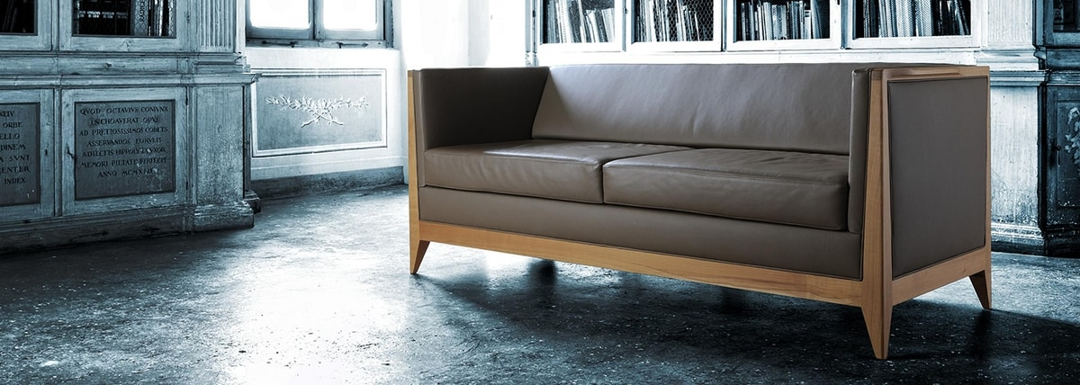 Torino 2238, Sofa with clean lines