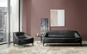 Tosca, Sofa with enveloping comfort