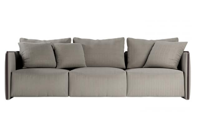 Trust sofa, Modular sofa with corner elements and chaise longue