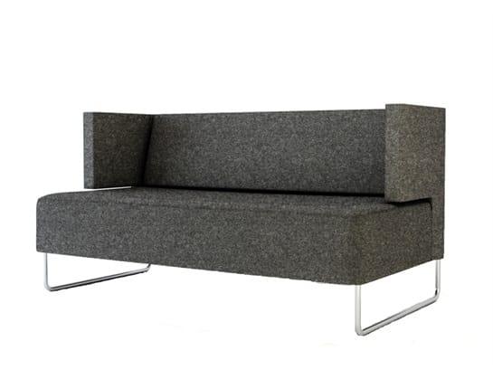 Urban 835S, Metal sled base sofa