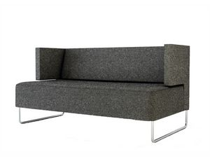 Urban 835S, Metal sled base sofa